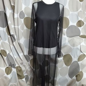 Zara Collection Stylish Mesh Dress